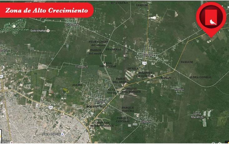 Foto de terreno habitacional en venta en  , conkal, conkal, yucatán, 1300341 No. 02