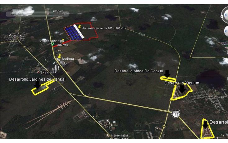 Foto de terreno habitacional en venta en  , conkal, conkal, yucatán, 1300341 No. 03