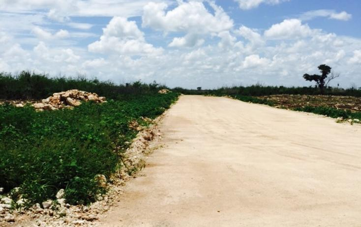 Foto de terreno habitacional en venta en  , conkal, conkal, yucatán, 1300341 No. 09