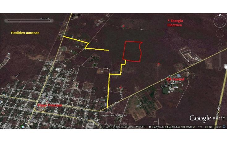 Foto de terreno habitacional en venta en  , conkal, conkal, yucatán, 1353833 No. 02