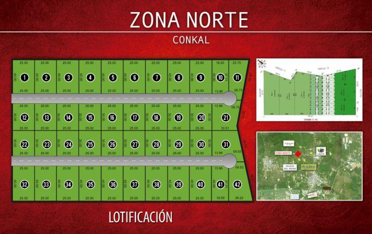 Foto de terreno habitacional en venta en, conkal, conkal, yucatán, 1389431 no 02