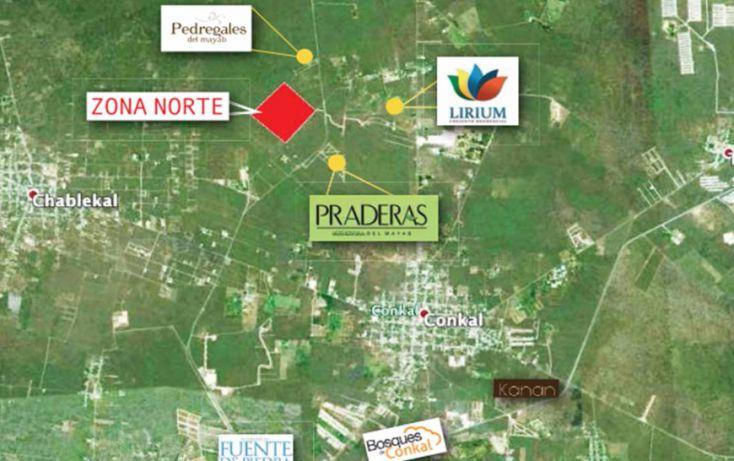 Foto de terreno habitacional en venta en, conkal, conkal, yucatán, 1389431 no 04