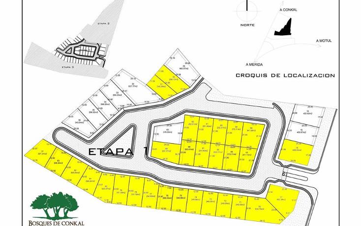 Foto de terreno habitacional en venta en  , conkal, conkal, yucat?n, 1418649 No. 03