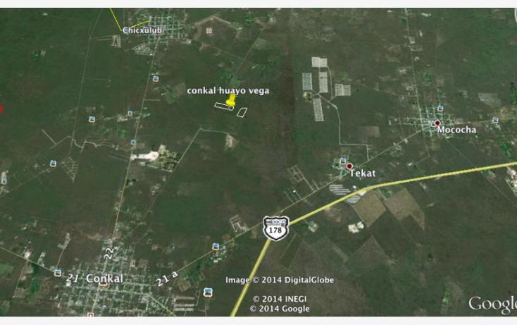 Foto de terreno habitacional en venta en tablaje rustico 7077 , conkal, conkal, yucatán, 1422703 No. 01
