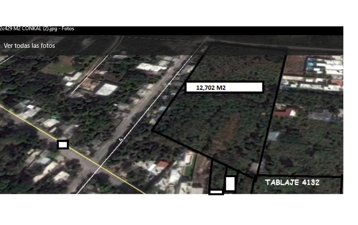 Foto de terreno habitacional en venta en  , conkal, conkal, yucat?n, 1436601 No. 02