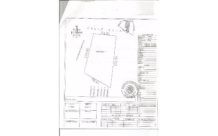 Foto de terreno habitacional en venta en  , conkal, conkal, yucat?n, 1436601 No. 05
