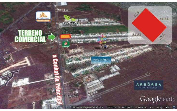 Foto de terreno comercial en venta en  , conkal, conkal, yucatán, 1451159 No. 07