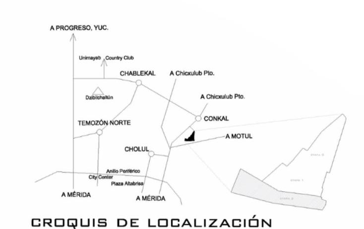 Foto de terreno habitacional en venta en  , conkal, conkal, yucatán, 1462359 No. 05