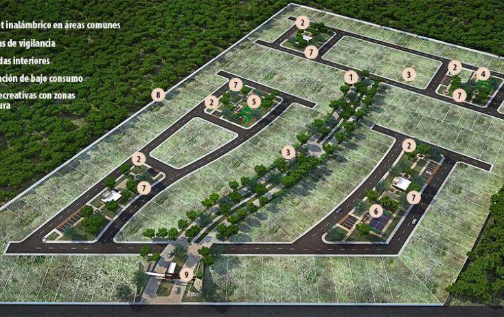 Foto de terreno habitacional en venta en, conkal, conkal, yucatán, 1478153 no 02