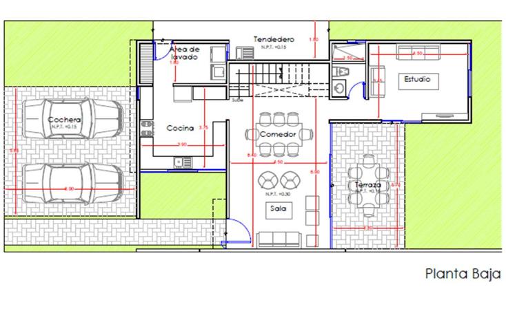 Foto de casa en venta en  , conkal, conkal, yucat?n, 1482529 No. 04
