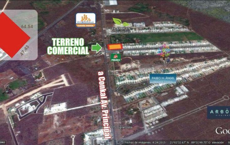 Foto de terreno comercial en venta en, conkal, conkal, yucatán, 1492641 no 01
