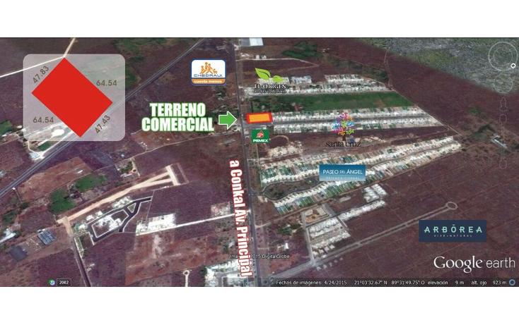 Foto de terreno comercial en venta en  , conkal, conkal, yucatán, 1492641 No. 01