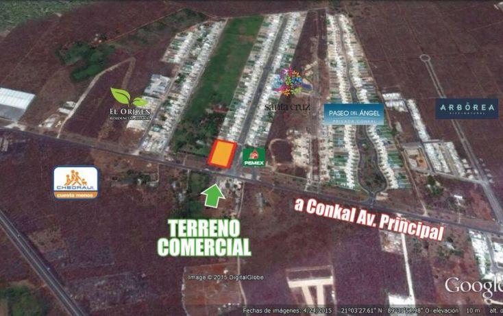Foto de terreno comercial en venta en, conkal, conkal, yucatán, 1492641 no 02
