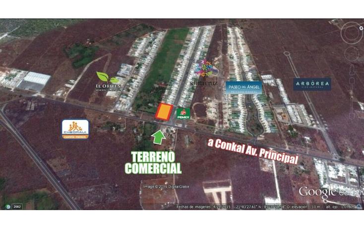 Foto de terreno comercial en venta en  , conkal, conkal, yucatán, 1492641 No. 02