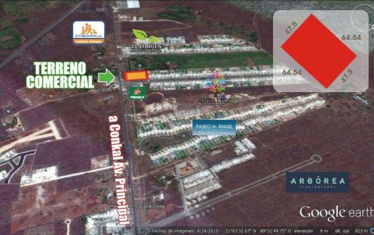 Foto de terreno comercial en venta en, conkal, conkal, yucatán, 1492641 no 03