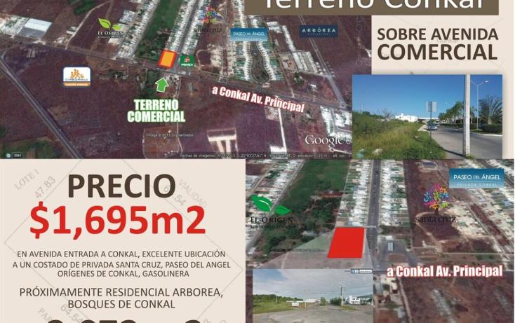 Foto de terreno comercial en venta en  , conkal, conkal, yucatán, 1492641 No. 05