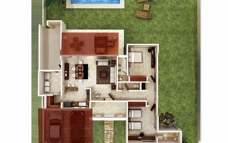 Foto de casa en venta en  , conkal, conkal, yucatán, 1495879 No. 03