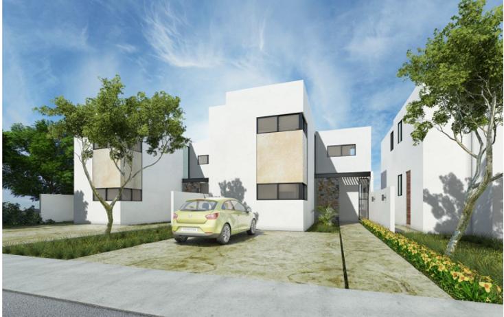 Foto de casa en condominio en venta en  , conkal, conkal, yucatán, 1496227 No. 01