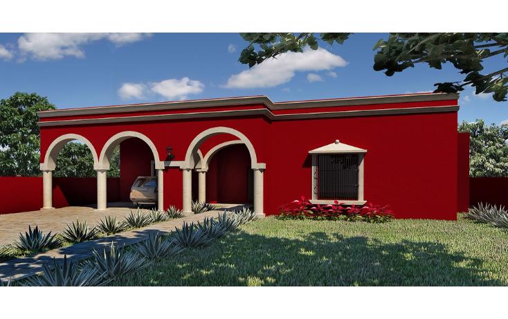 Foto de casa en venta en  , conkal, conkal, yucatán, 1502347 No. 01