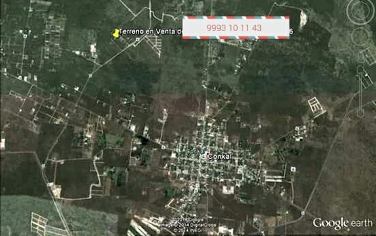 Foto de terreno habitacional en venta en  , conkal, conkal, yucatán, 1502399 No. 01