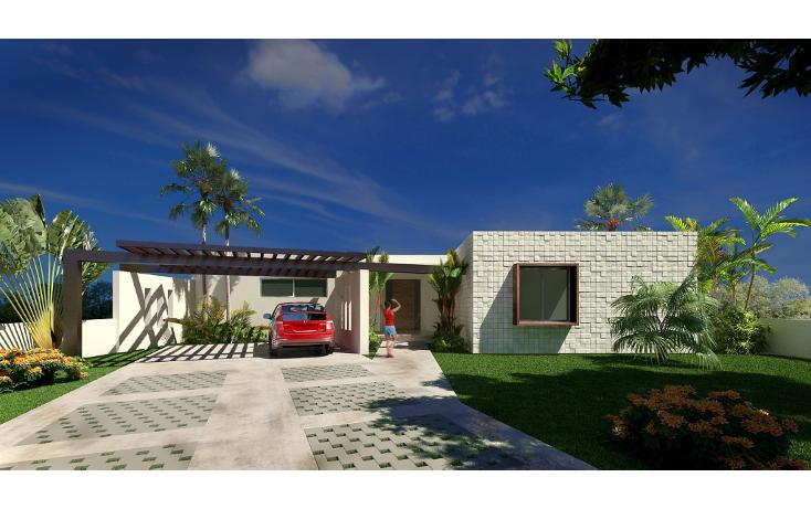 Foto de casa en venta en  , conkal, conkal, yucatán, 1502553 No. 01