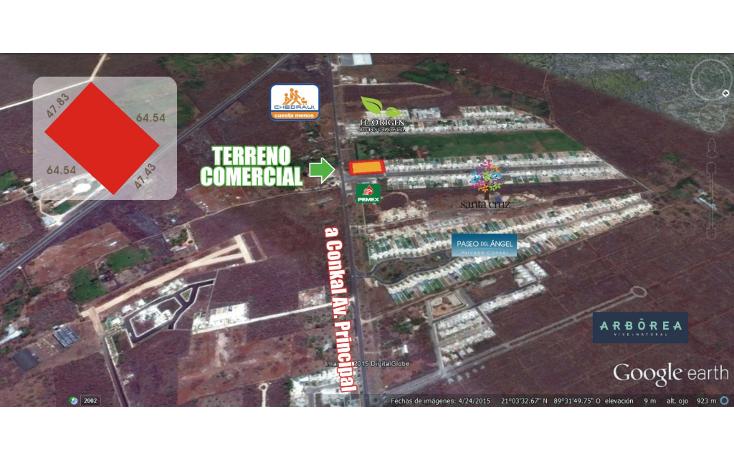 Foto de terreno comercial en venta en  , conkal, conkal, yucatán, 1506097 No. 03