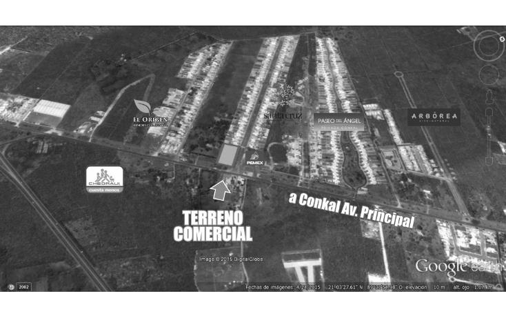 Foto de terreno comercial en venta en  , conkal, conkal, yucatán, 1506097 No. 04