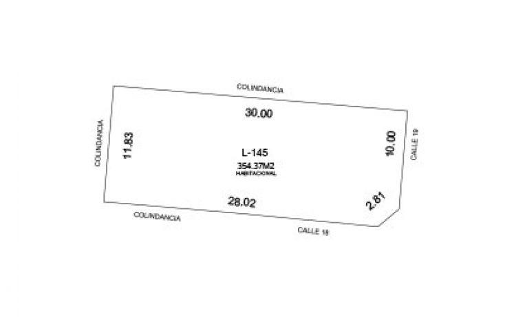 Foto de terreno habitacional en venta en, conkal, conkal, yucatán, 1526329 no 01