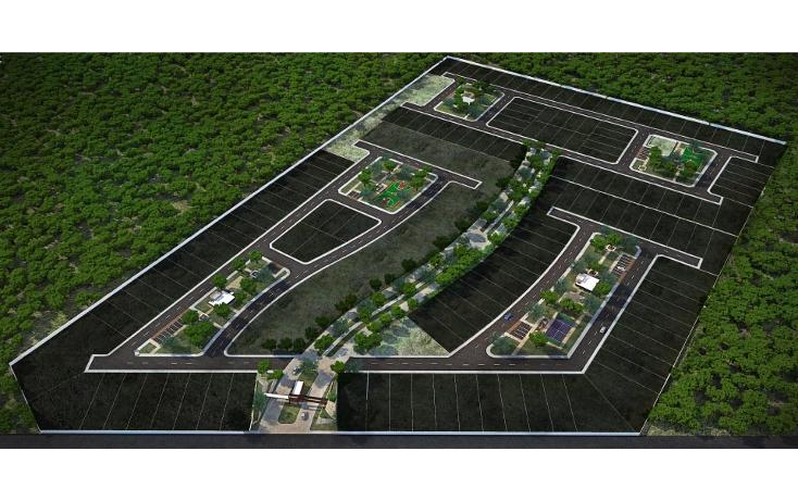 Foto de terreno habitacional en venta en  , conkal, conkal, yucat?n, 1526329 No. 03