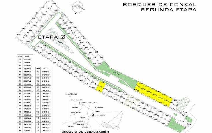 Foto de terreno habitacional en venta en  , conkal, conkal, yucatán, 1529820 No. 09