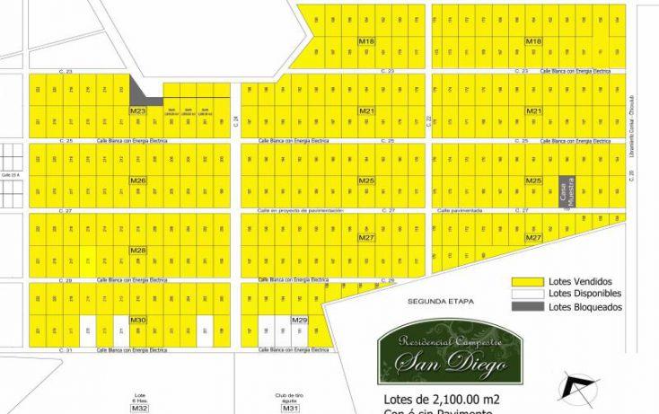 Foto de terreno habitacional en venta en, conkal, conkal, yucatán, 1544418 no 01