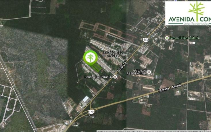 Foto de terreno habitacional en venta en, conkal, conkal, yucatán, 1549290 no 04
