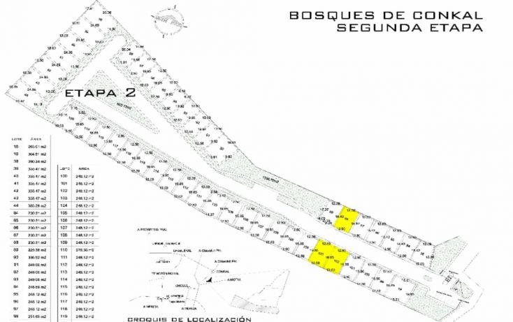 Foto de terreno habitacional en venta en, conkal, conkal, yucatán, 1550672 no 02