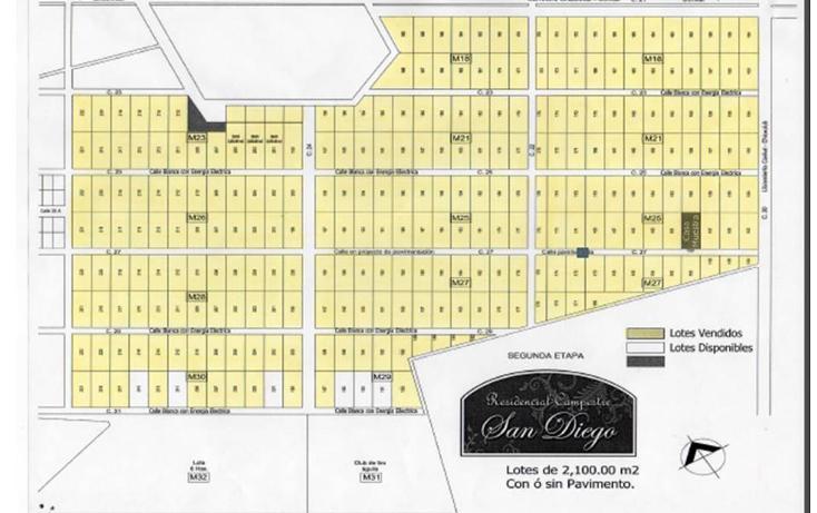 Foto de terreno habitacional en venta en  , conkal, conkal, yucatán, 1553644 No. 02