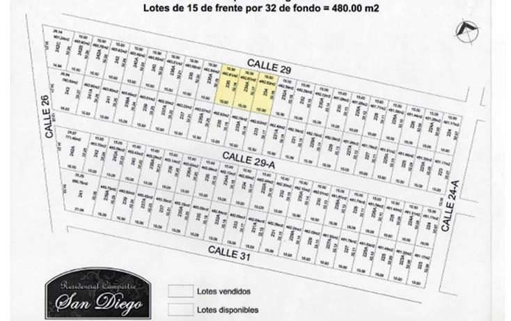 Foto de terreno habitacional en venta en  , conkal, conkal, yucatán, 1553644 No. 03