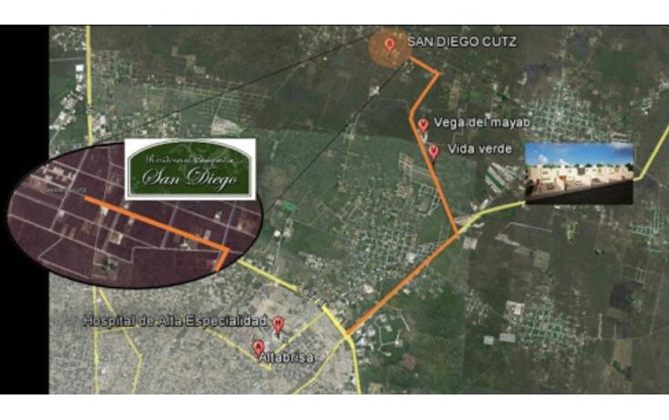 Foto de terreno habitacional en venta en  , conkal, conkal, yucatán, 1553644 No. 04