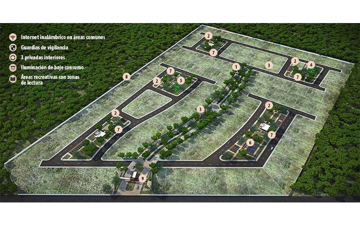 Foto de terreno habitacional en venta en  , conkal, conkal, yucatán, 1555798 No. 03