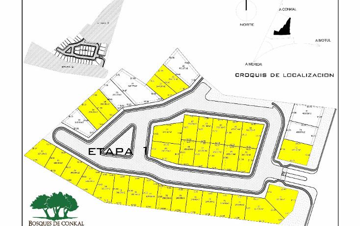 Foto de terreno habitacional en venta en  , conkal, conkal, yucatán, 1570474 No. 02