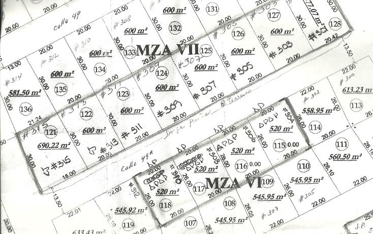 Foto de terreno habitacional en venta en  , conkal, conkal, yucatán, 1579180 No. 04