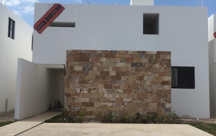Foto de casa en venta en  , conkal, conkal, yucatán, 1604874 No. 01