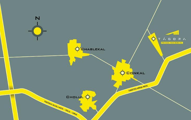 Foto de terreno habitacional en venta en  , conkal, conkal, yucatán, 1606750 No. 08