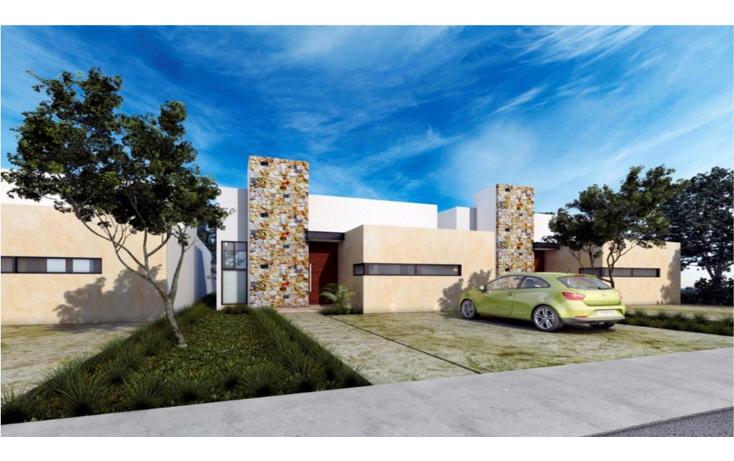 Foto de casa en venta en  , conkal, conkal, yucatán, 1620842 No. 01