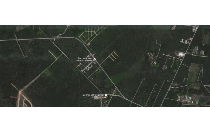 Foto de terreno habitacional en venta en  , conkal, conkal, yucatán, 1647900 No. 02