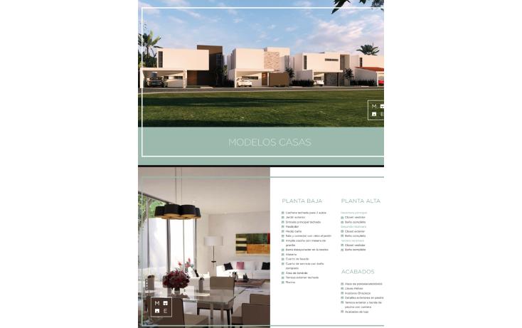 Foto de casa en venta en  , conkal, conkal, yucat?n, 1661408 No. 02
