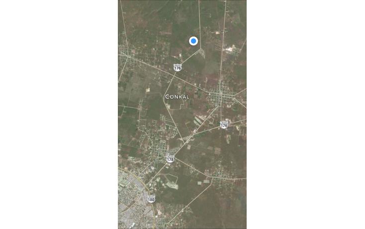 Foto de terreno habitacional en venta en, conkal, conkal, yucatán, 1662128 no 02
