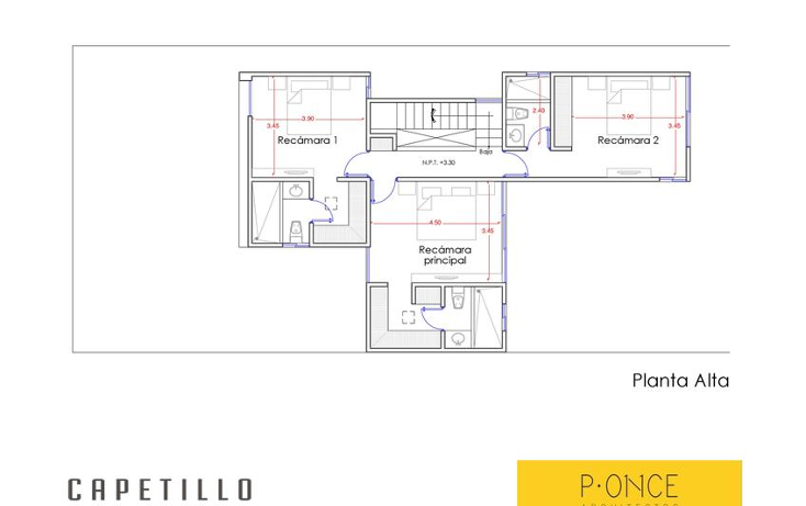 Foto de casa en venta en  , conkal, conkal, yucat?n, 1664316 No. 05