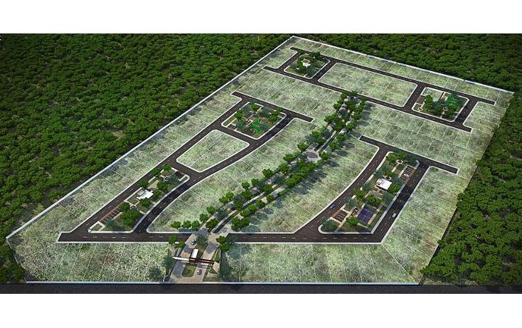 Foto de terreno habitacional en venta en  , conkal, conkal, yucatán, 1679120 No. 04