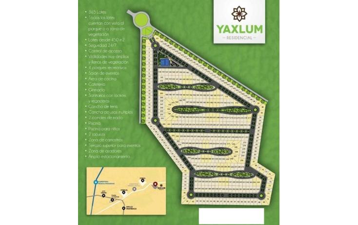 Foto de terreno habitacional en venta en  , conkal, conkal, yucat?n, 1684816 No. 09