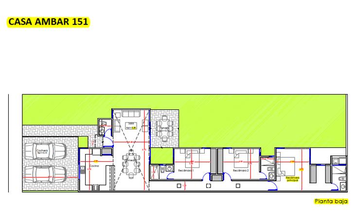 Foto de casa en venta en  , conkal, conkal, yucatán, 1692140 No. 05