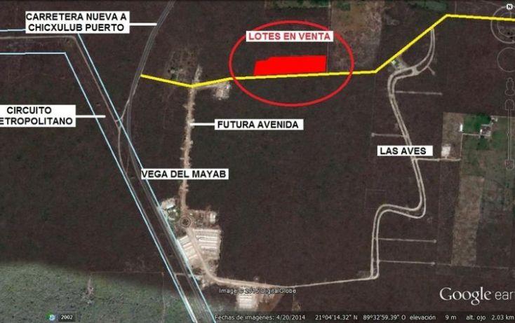 Foto de terreno habitacional en venta en, conkal, conkal, yucatán, 1694286 no 01